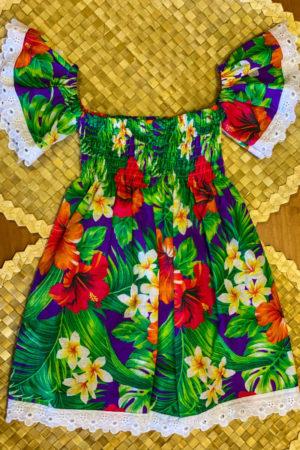 Robe bébé Tahiti-1