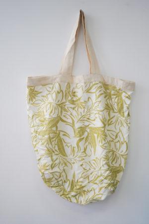 Sac à fleurs blanc – Hisbicus Tahiti