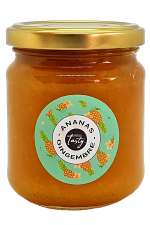 Confiture Ananas gingembre